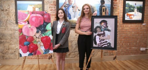 Bursaries for best two of 77 young artists