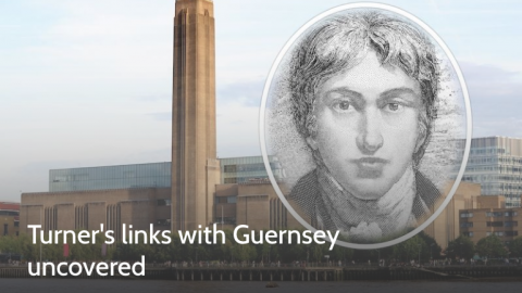 Turner's links with Guernsey uncovered